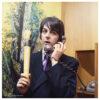 Paul McCartney on Phone, 1968