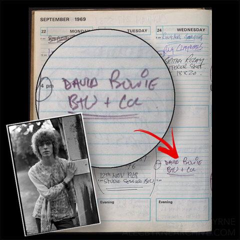 David Bowie © Alec Byrne