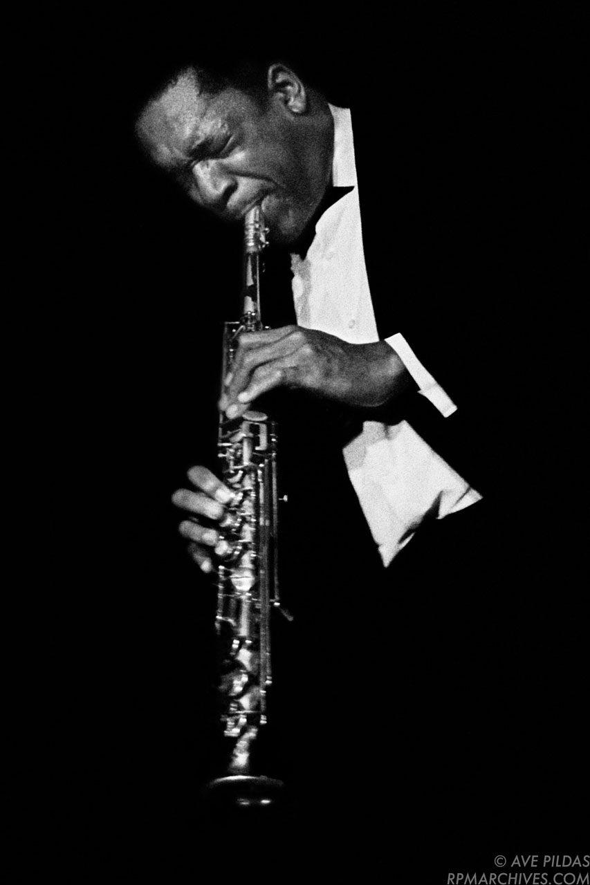 John Coltrane Cincinnati 1963 © Ave Pildas