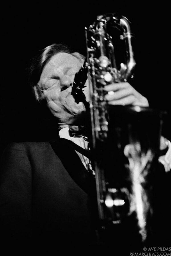 Gerry Mulligan Cincinnati 1963 © Ave Pildas