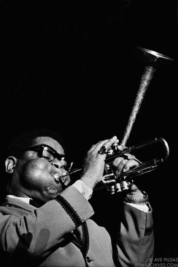 Dizzy Gillespie Cincinnati 1963 © Ave Pildas