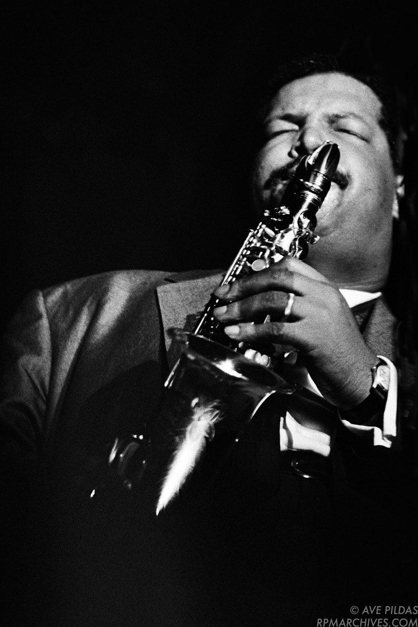 Julian Cannonball Adderley August, 1963 © Ave Pildas