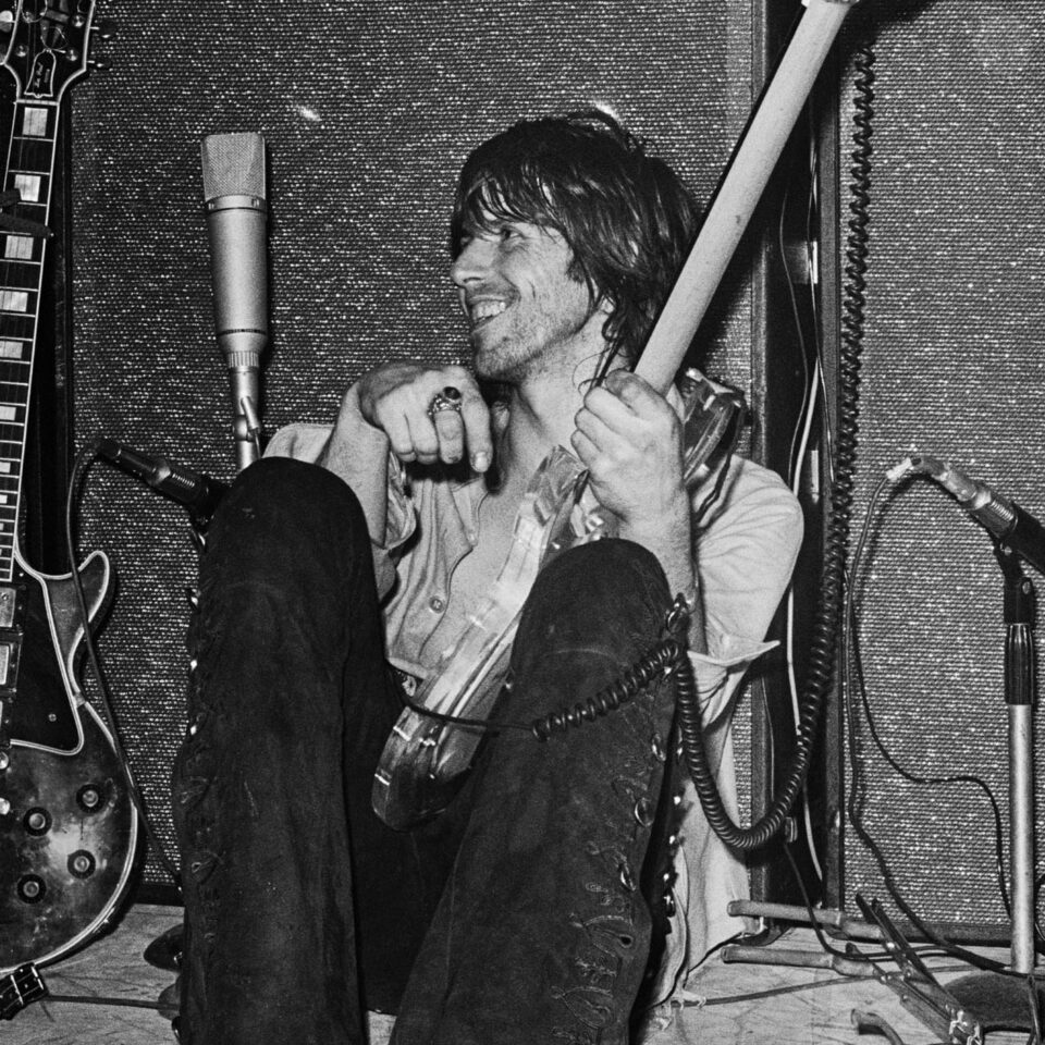 Keith Richards, Marquee Sound Check, 1971