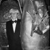 Andy Warhol on the set of 'The Love Boat.' © Kevin C. Goff