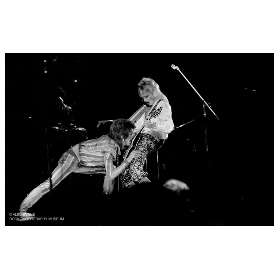 Bowie and Ronson, Earl's Court, 1973