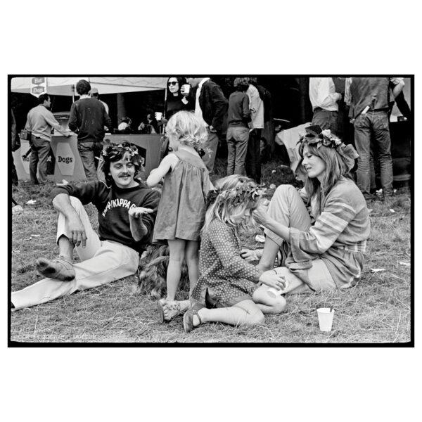 David Hemmings & Vanessa Redgrave, Festival of the Flower Children, 1967