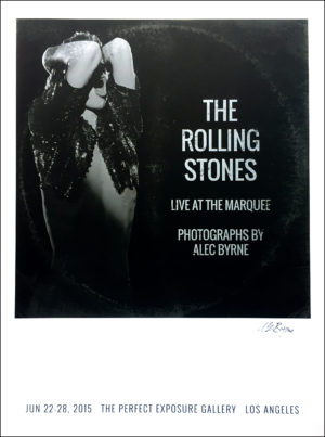 The Rolling Stones: Live at the Marquee Exhibition Print