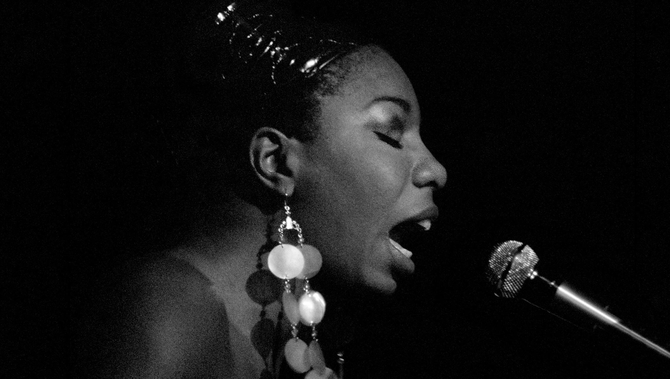 Nina Simone, 1964 © Ave Pildas