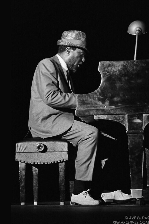 Thelonious Monk Cincinnati 1963 © Ave Pildas