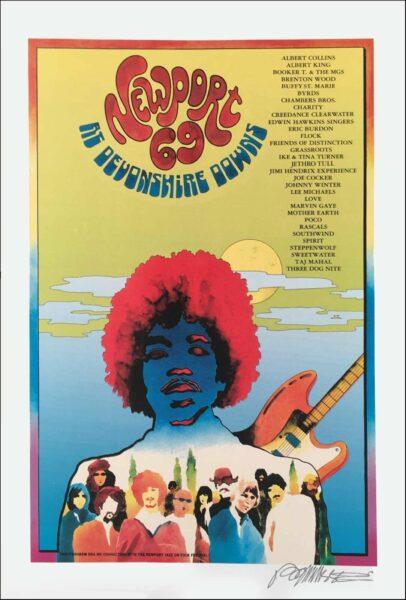 Newport 69 Festival Poster