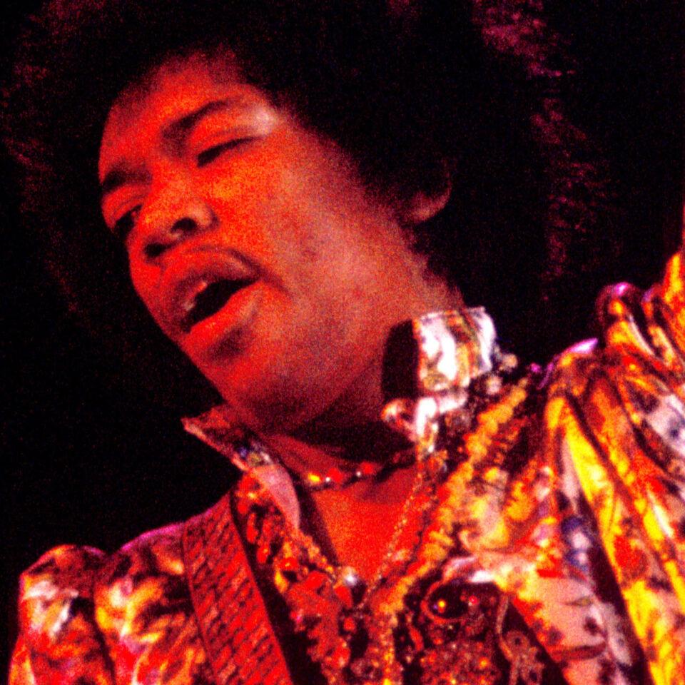 Jimi Hendrix, Hollywood Bowl, 1967 © Guy Webster