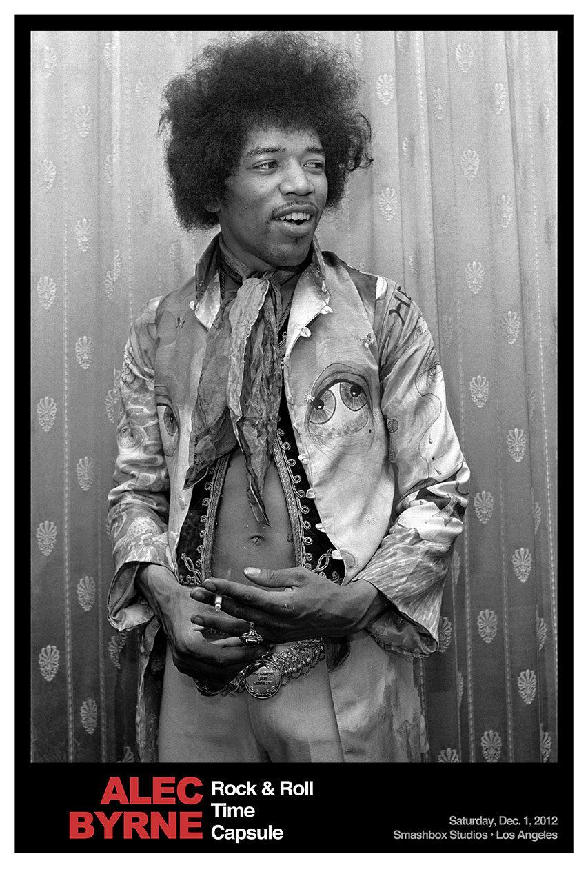 Jimi Hendrix © Alec Byrne