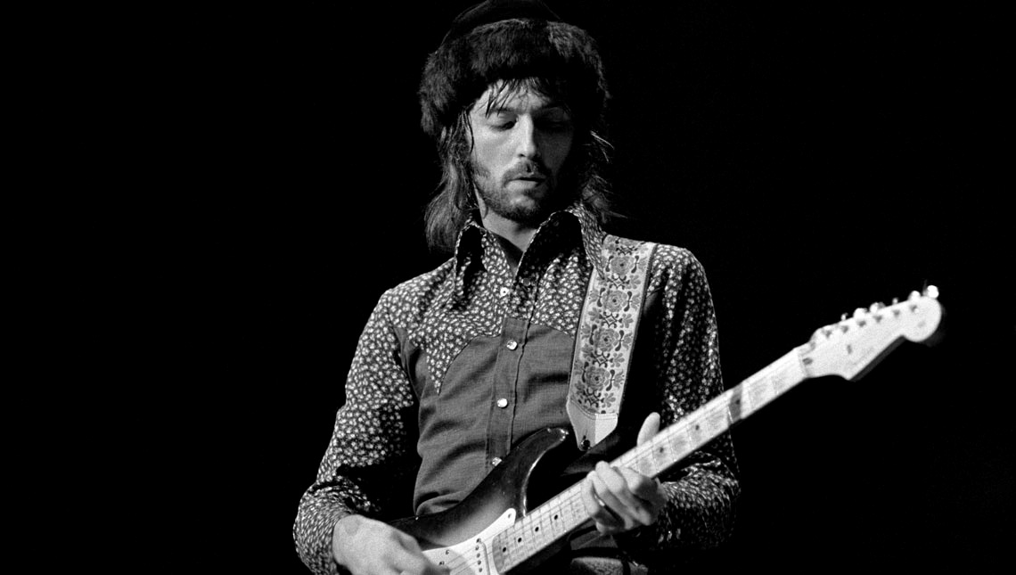 Eric Clapton, 1975, © Kevin Goff