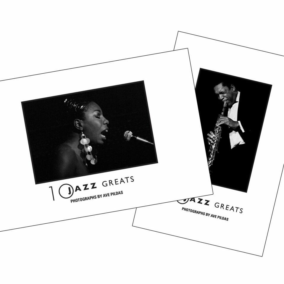 10 Jazz Greats - Small Book Set
