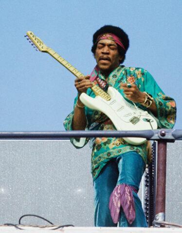 Jimi Hendrix by Kevin C. Goff