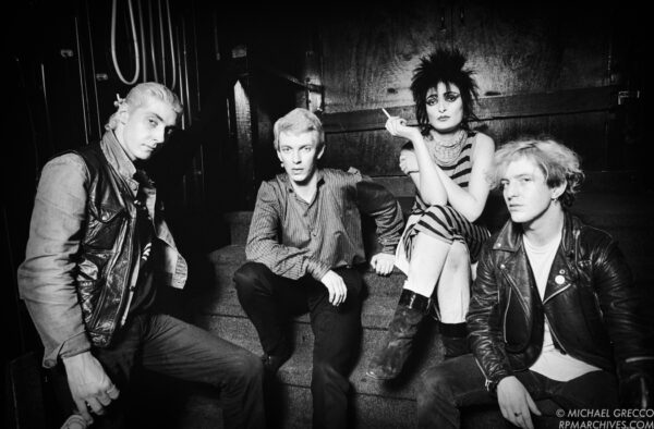 Siouxsie and the Banshees by Michael Grecco
