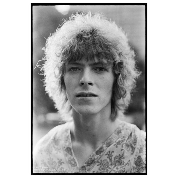 David Bowie Limited Edition Print © Alec Byrne