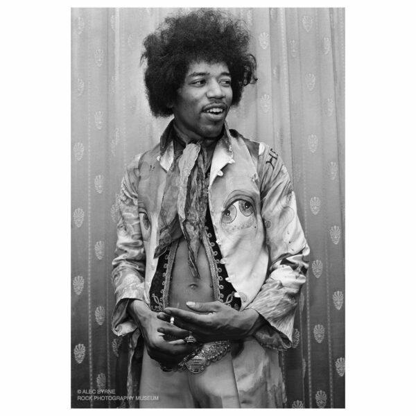 Jimi Hendrix, Backstage, Saville Theatre 1967