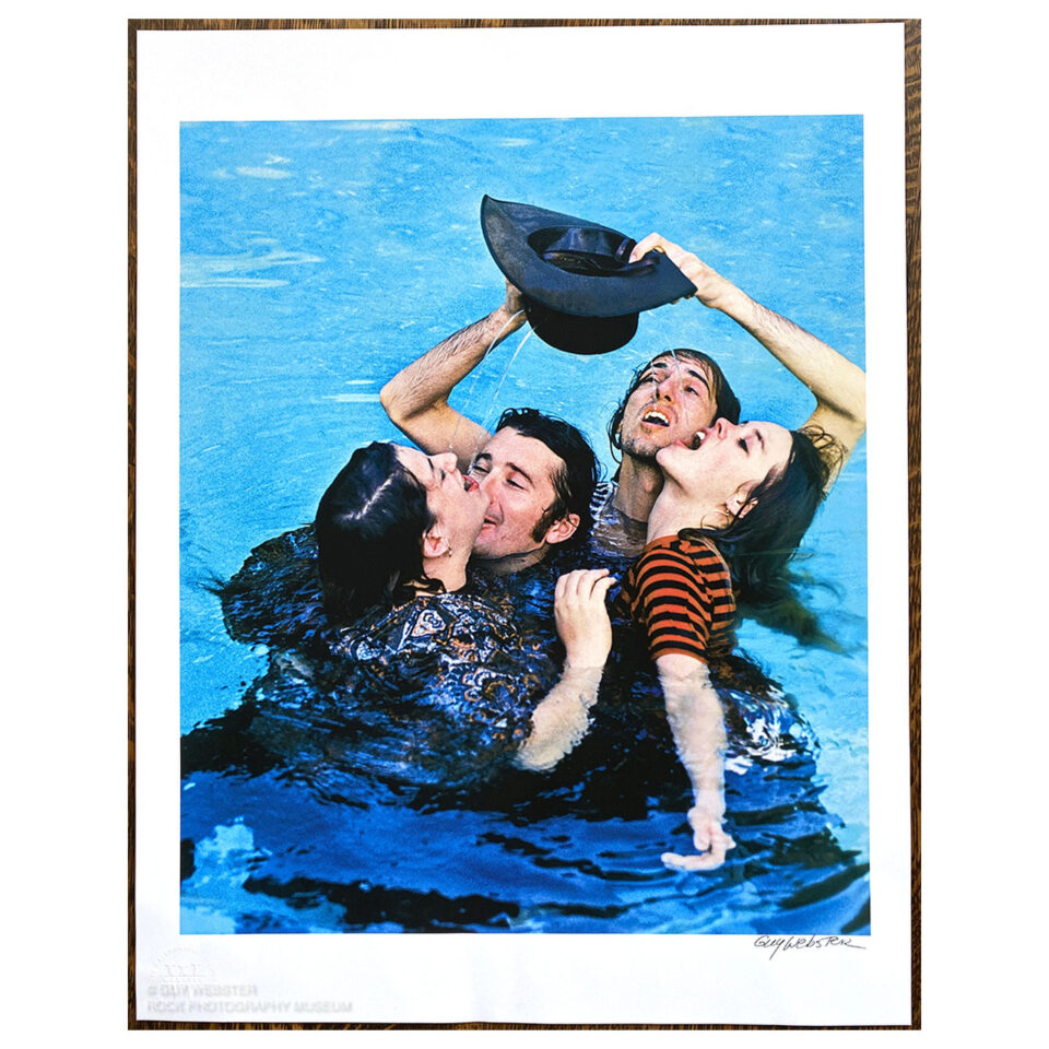 The Mamas and the Papas, Deliver – Signed Print © Guy Webster