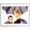 Simon and Garfunkel, Umbrella – Signed Print © Guy Webster