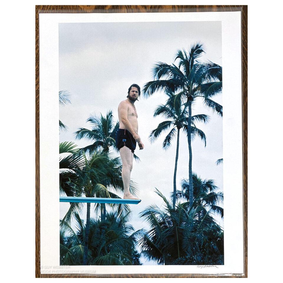 Brian Wilson, Dive – Signed Print © Guy Webster