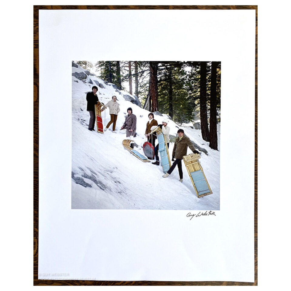 The Beach Boys, Idyllwild – Signed Print © Guy Webster
