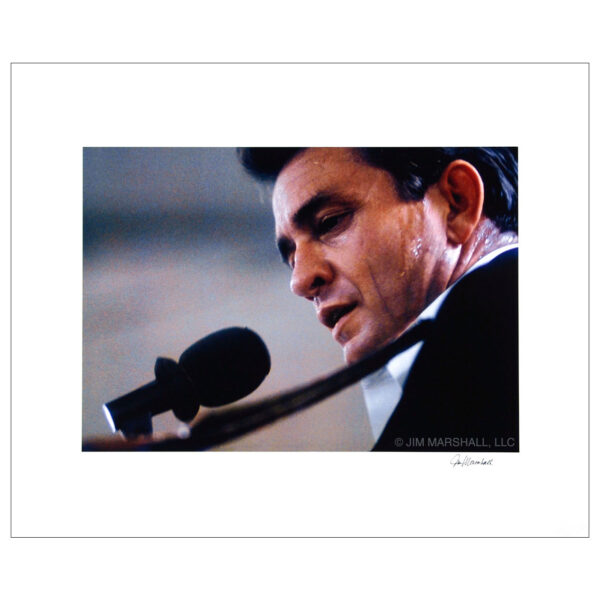 Johnny Cash performing at Folsom Prison, 1968 © Jim Marshall, LLC