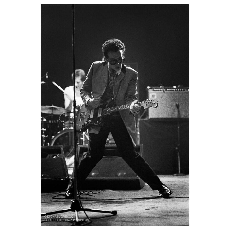 Elvis Costello, Orpheum Theatre, Boston, 1981