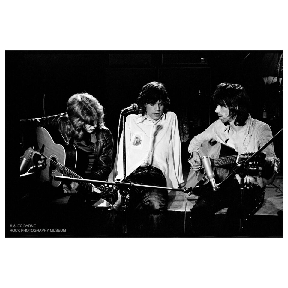 Mick, Mick & Keith, The Marquee, 1971