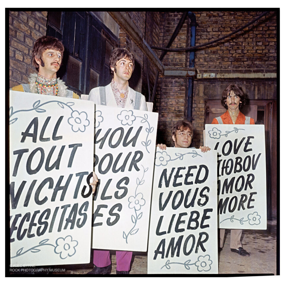 The Beatles, All You Need Is Love, Abbey Road, 1967