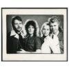 ABBA Vintage Print © Alec Byrne