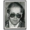Elton John Vintage Print © Alec Byrne