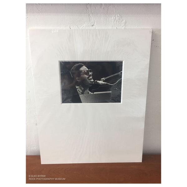Stevie Wonder Vintage Print © Alec Byrne