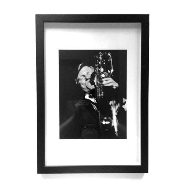 Gerry Mulligan Limited Edition Photograph © Ave Pildas