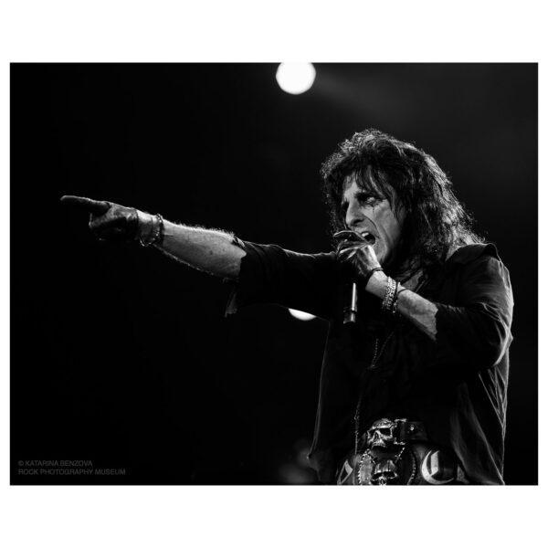 Alice Cooper Limited Edition Photograph © Katarina Benzova