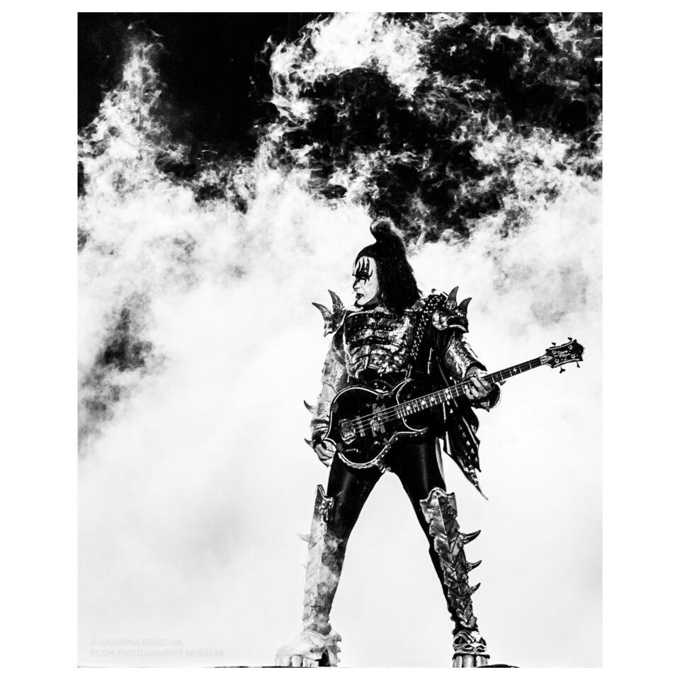 Gene Simmons Limited Edition Photograph © Katarina Benzova
