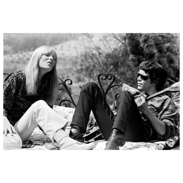 Nico and Lou Reed Limited Edition Photograph © Lisa Law