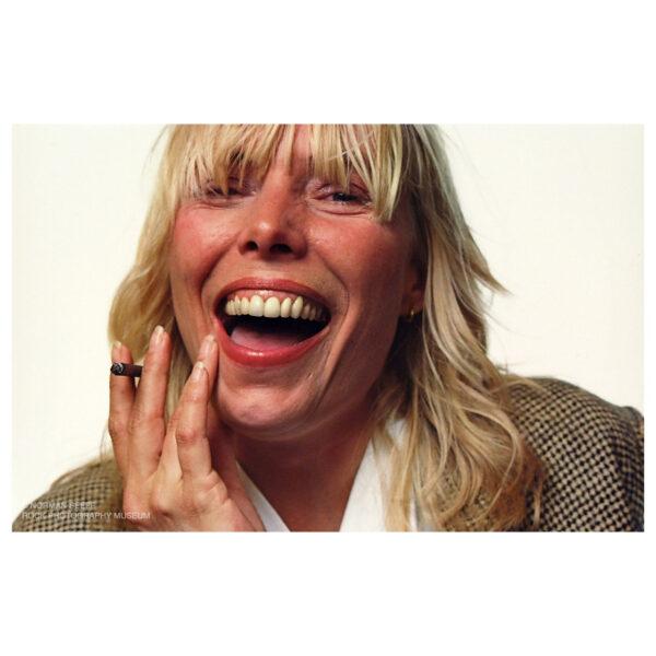 Joni Mitchell Chromogenic Print © Norman Seeff
