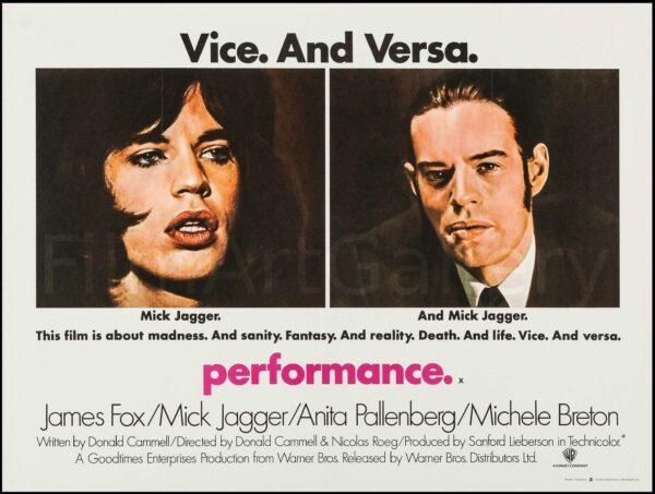 'Performance' Film Poster